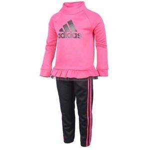 Adidas Toddler Girl Tracksuit Set